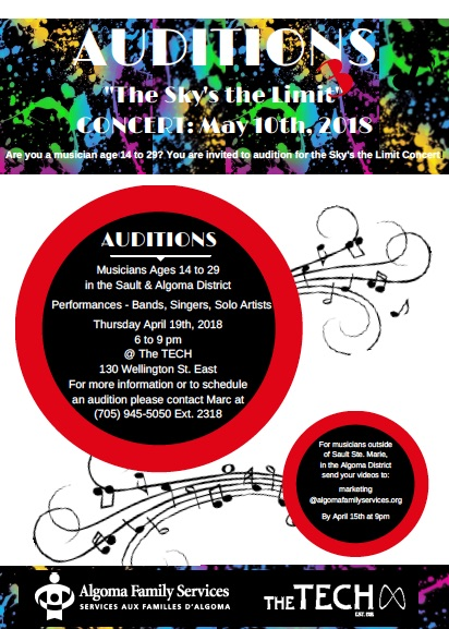 Auditions Poster AFS