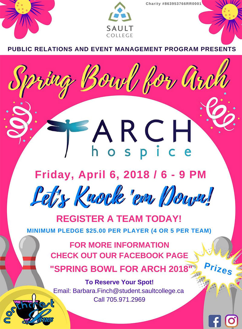 2018 Bowl for Arch fundraiser
