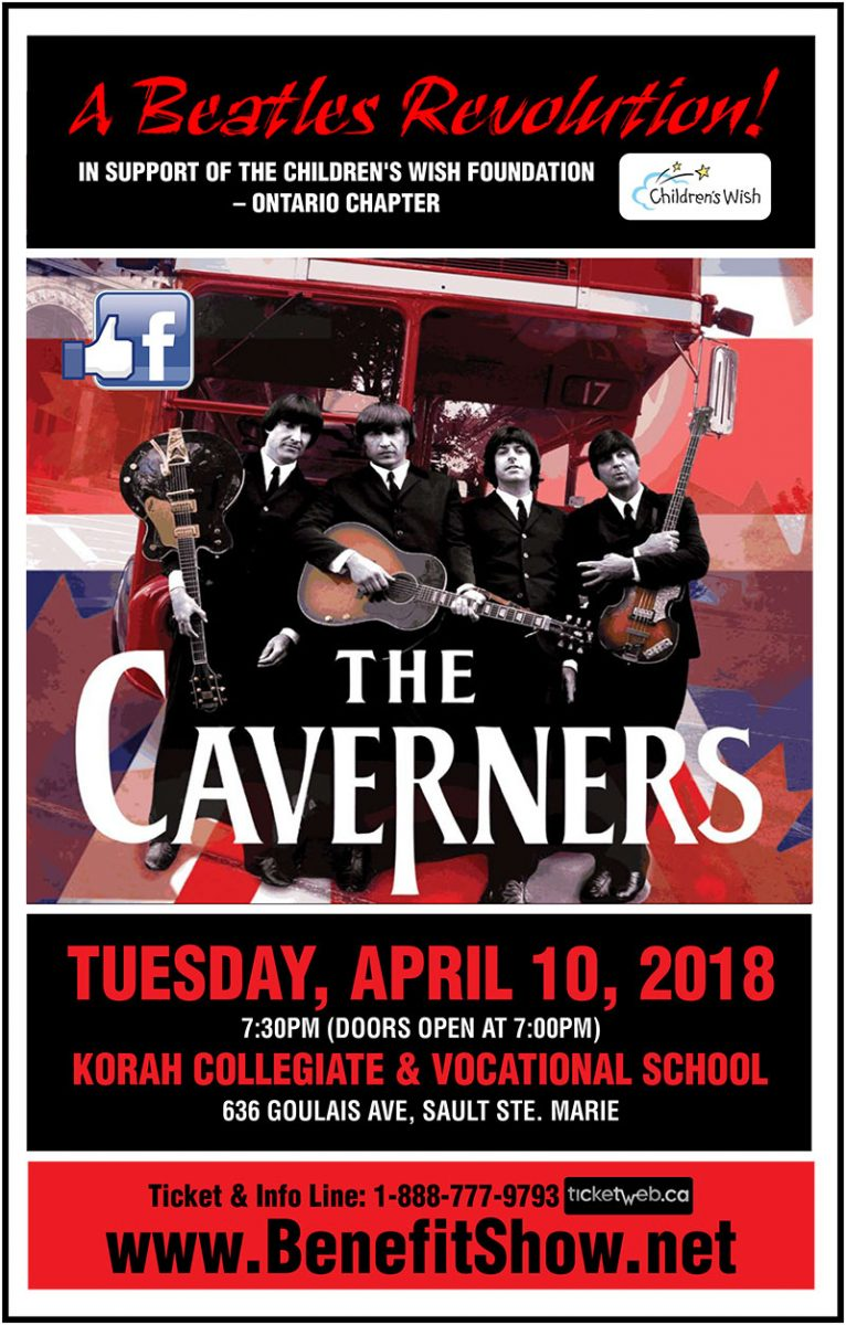 THE CAVERNERS CANADA'S PREMIER BEATLES SHOW