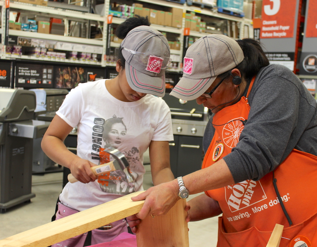 High school girls embrace possibility with Home Depot! | SaultOnline.com