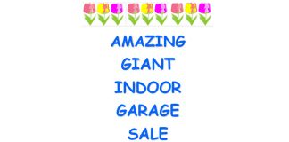 GIANT INDOOR GARAGE SALE at St. Andrew's United Church