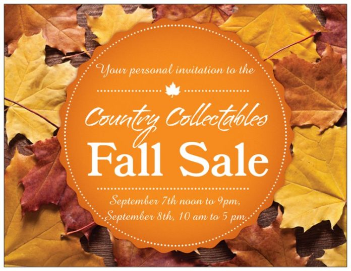 Country Fall Sale