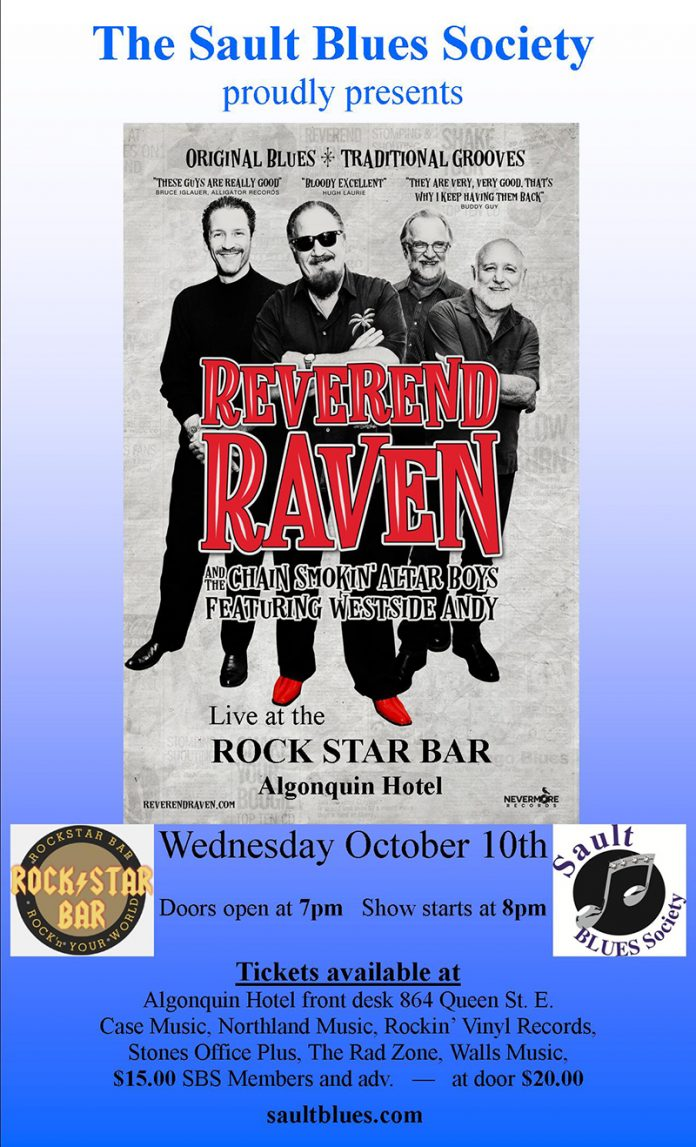 Reverend Raven and the Chain Smokin' Altar Boys featuring Westside Andy
