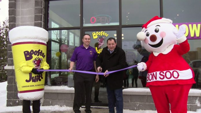 Booster Juice Ribbon Cutting