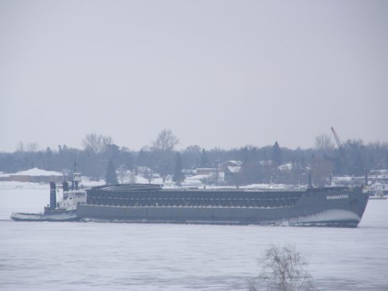 Purvis Marine tug Anglian Lady with the Ironmaster Barge