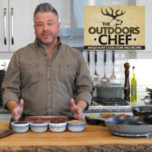 Chef Jonathan Collins with The Outdoors Chef