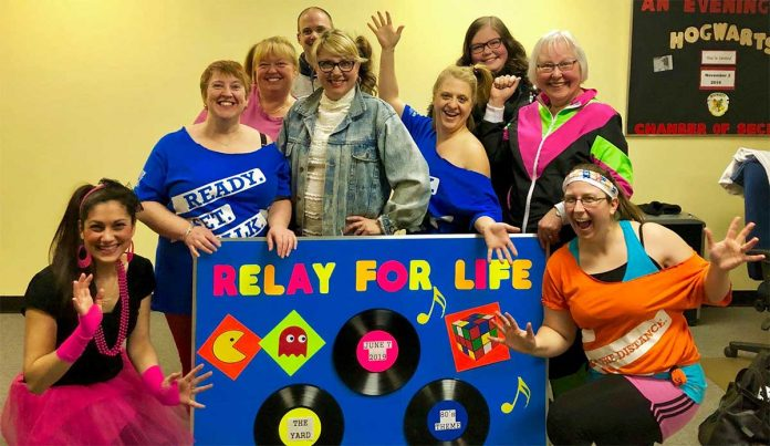 Canadian Cancer Society 80s Family Video Dance Party