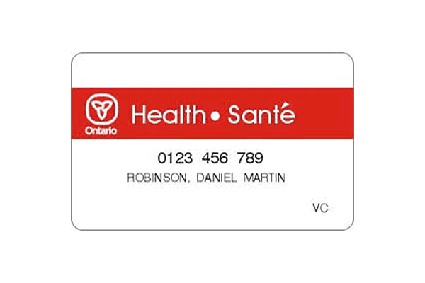Red & White Health Card