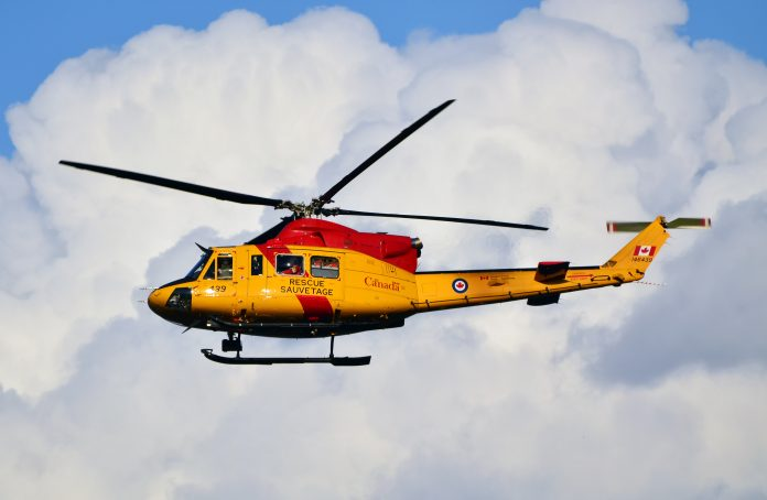 Canadian Forces Rescue Helicopter