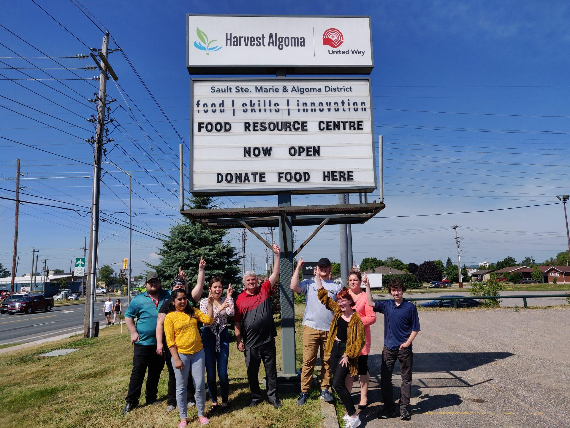 United Way's Harvest Algoma Food Resource Centre