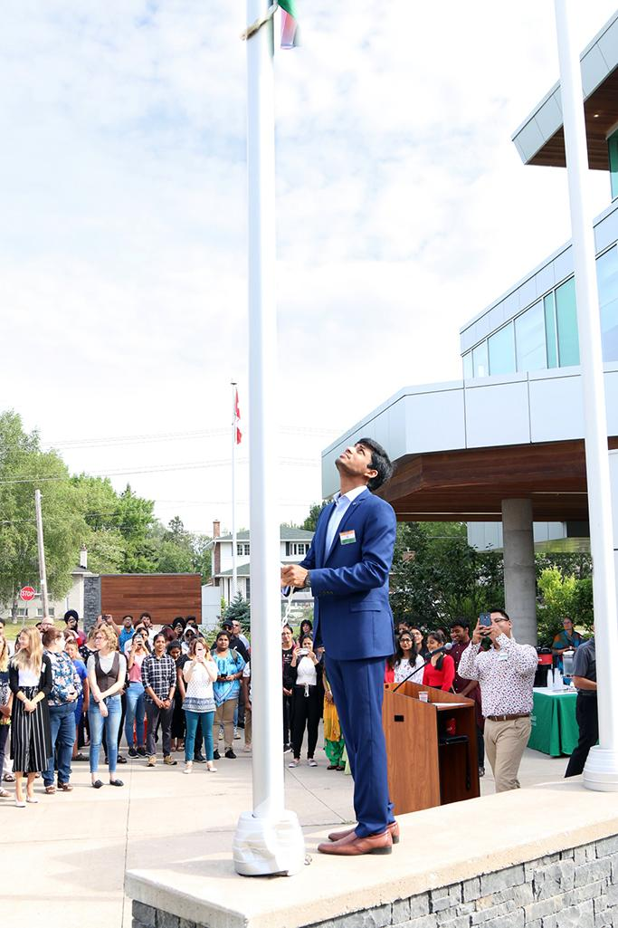 Sault College India Independence Day