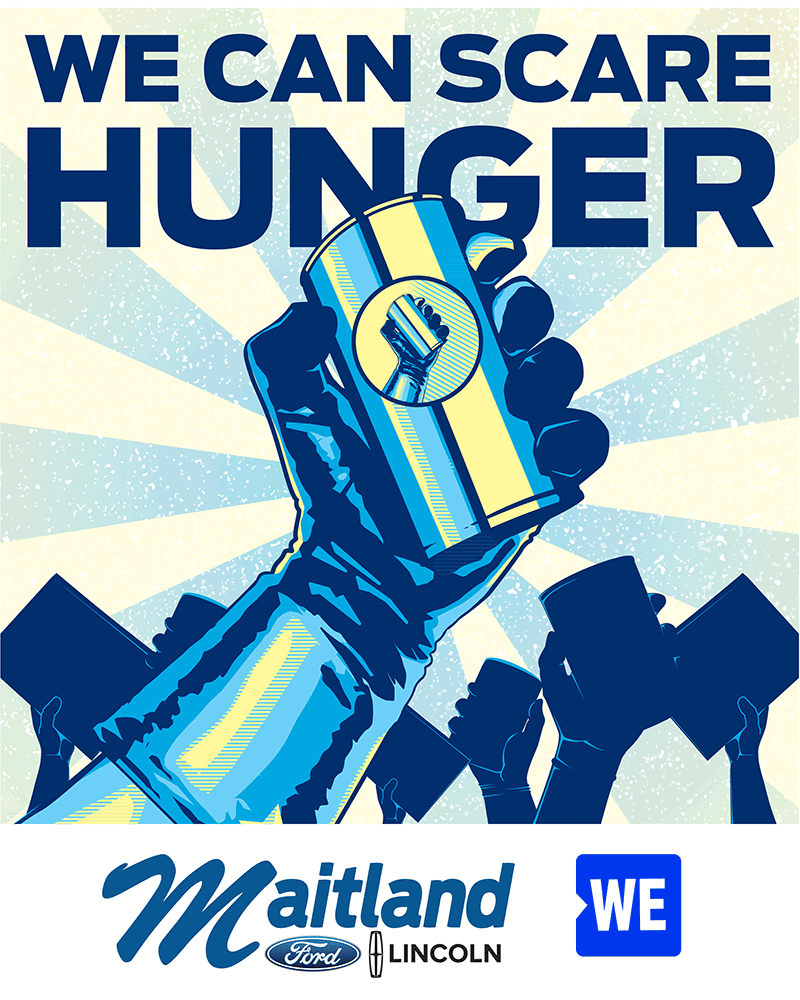 WE Scare Hunger