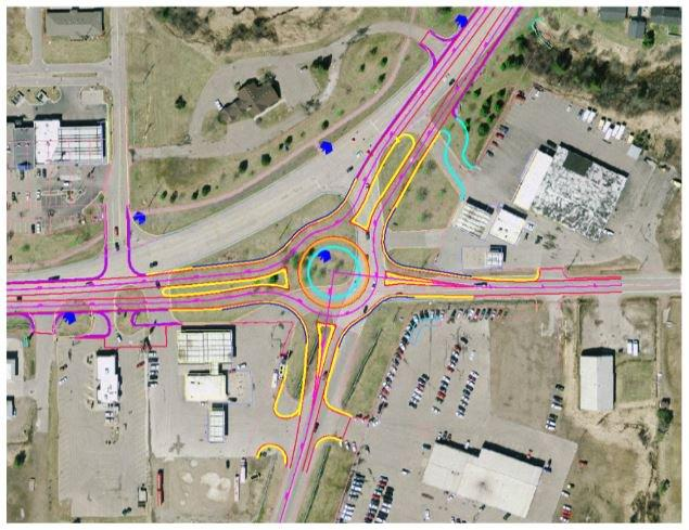 I-75 Business Spur Roundabout