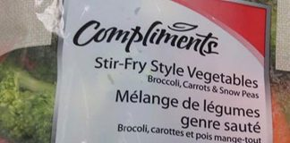 Compliments Fresh Vegetables