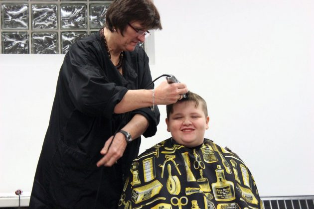 Scouts Head Shave