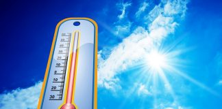 heat warm temperatures