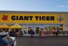 Giant Tiger Grand Opening