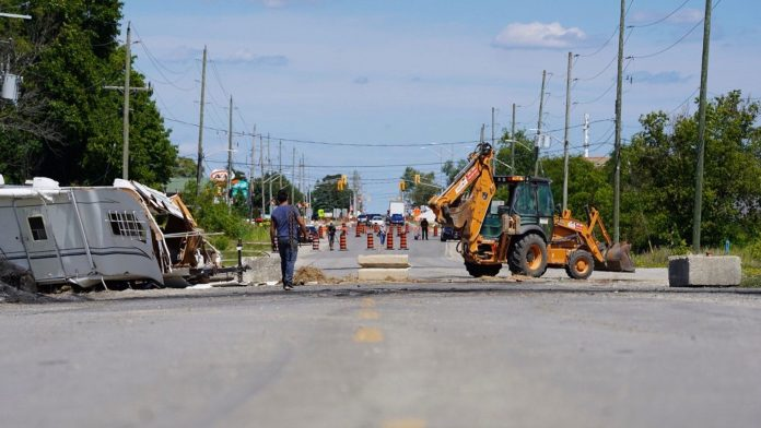 Caledonia barricades come down