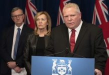 Doug Ford Podium