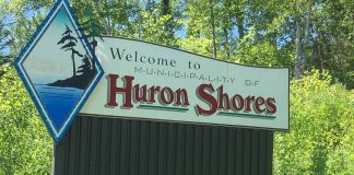 Huron Shores Sign