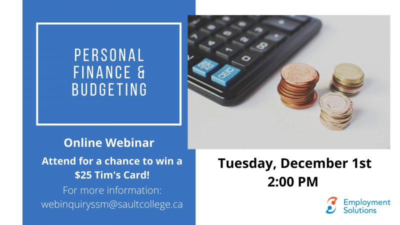 Personal Finance and Budgeting Webinar