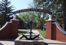 Lake Superior State University Front Gate