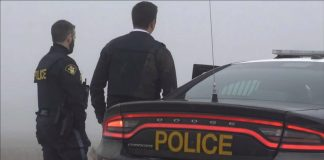 OPP Officers and Car
