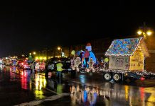Sault Michigan Parade of Lights