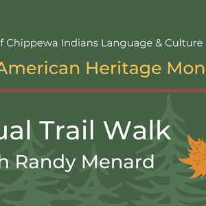 Virtual Trail Walk with Randy Menard