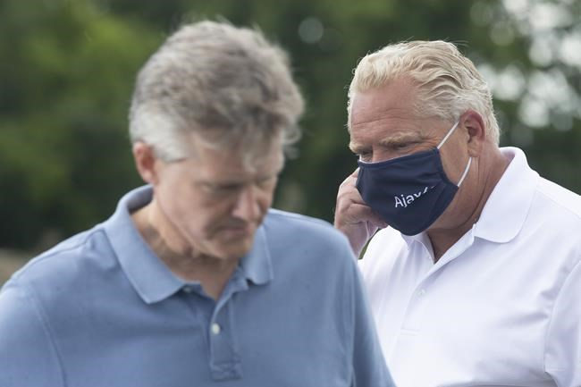 Rod Phillips and Doug Ford
