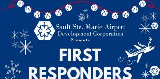 Salute First Responders at the Frozen Santa Drive Thru Parade