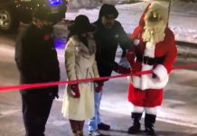 Santa Claus Parade Ribbon Cutting 2020