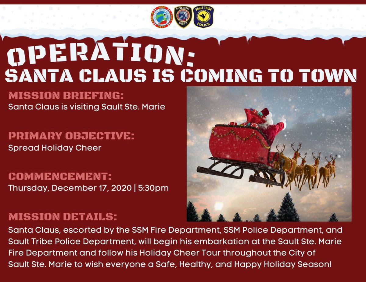 Operation Santa Claus is Coming to Town SSM Michigan