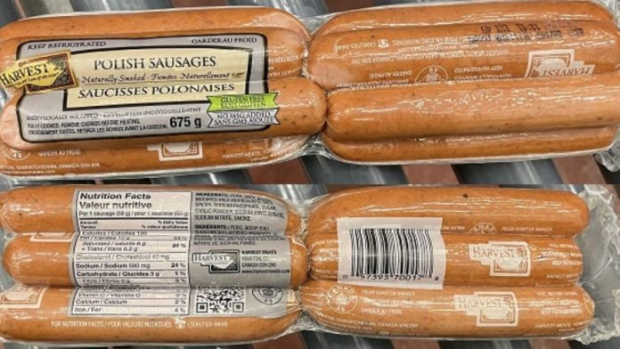 Harvest Meats Recall January 15 2020