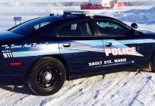 Sault Ste Marie Michigan Police Car
