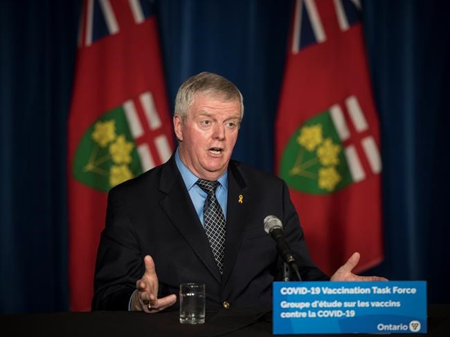 Ontario reports 975 new COVID cases Tuesday