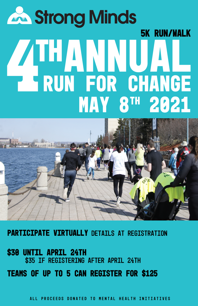 Strong Minds 4th Annual Run for Change