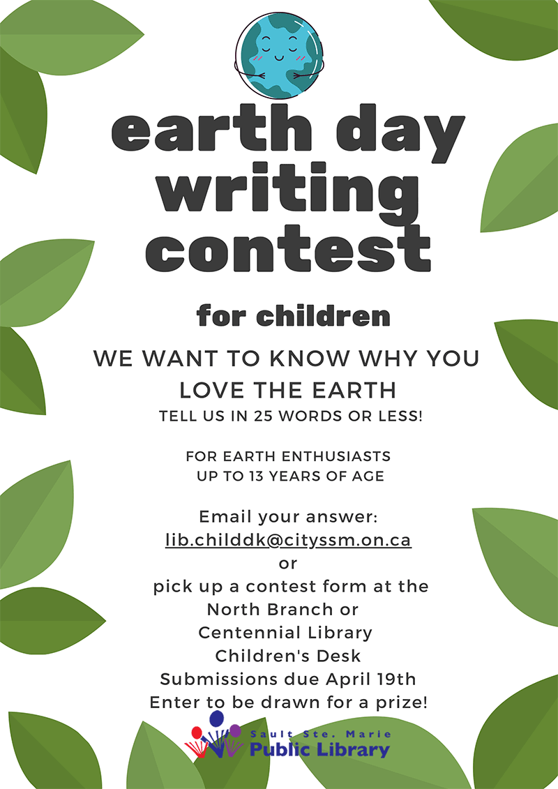Earth Day Writing Contest