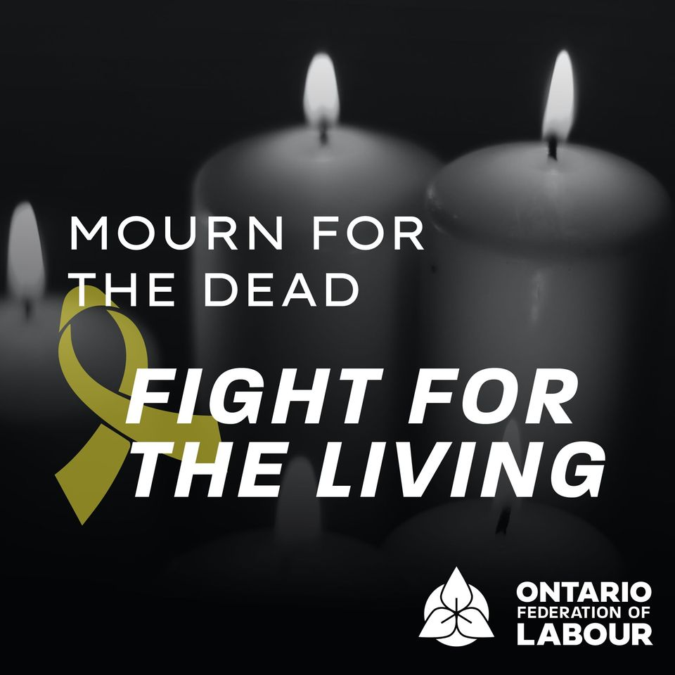 Sault Ste Marie District Labour Council: Day of Mourning Virtual Event
