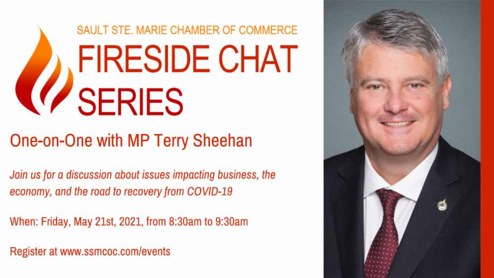 Fireside Chat with Sault Ste. Marie Member of Parliament Terry Sheehan